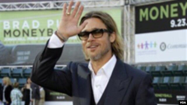 El actor Brad Pitt apoya las campañas para legalizar los matrimonios entre homosexuales.