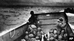 Saveznički vojnici tokom iskrcavanja u Normandiji