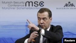 Дмитрий Медведев. Мюнхен, Германия. 13 февраля 2016 г.
