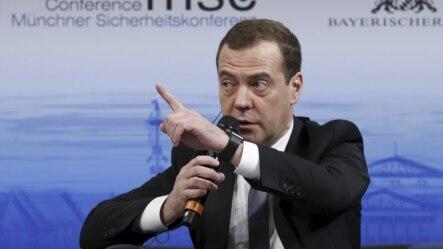 俄羅斯總理梅德韋傑夫在德國慕尼黑安全會議上指責西方重新啟動冷戰。
