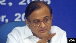 Mendagri India P. Chidambaram memberitahu wartawan di New Delhi, bahwa Pakistan kemungkinan ikut mengkoordinasi serangan Mumbai 2008 (foto: dok).