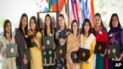 واشنگٹن میں پاکستانی بزنس وومین کا تربیتی کورس