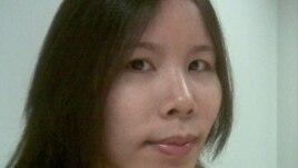 Sinh viên Trang Nhung, một trong 3 sinh viên khởi xướng Tuyên ngôn Công lý cho Đoàn Văn Vươn