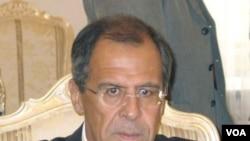 Menlu Rusia Sergei Lavrov. Kementerian Luar Negeri Rusia mengecam laporan Deplu AS.