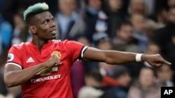 Paul Pgoba na Manchester United.