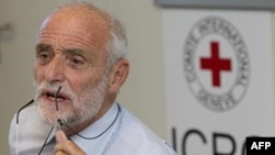 Президент Международного Комитета Красного Креста Джейкоб Келленбергер