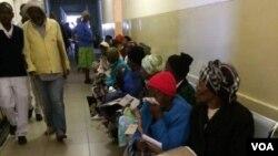 Vamwe vemarwere vari pachipatara cheMpilo Central Hospital