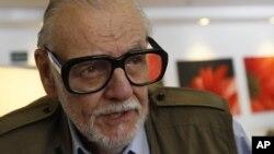 El cineasta George A. Romero murió a los 77 años el domingo, 16 de julio de 2017.