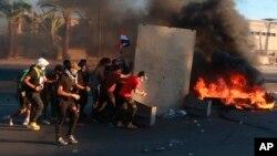 APTOPIX Iraq Protests