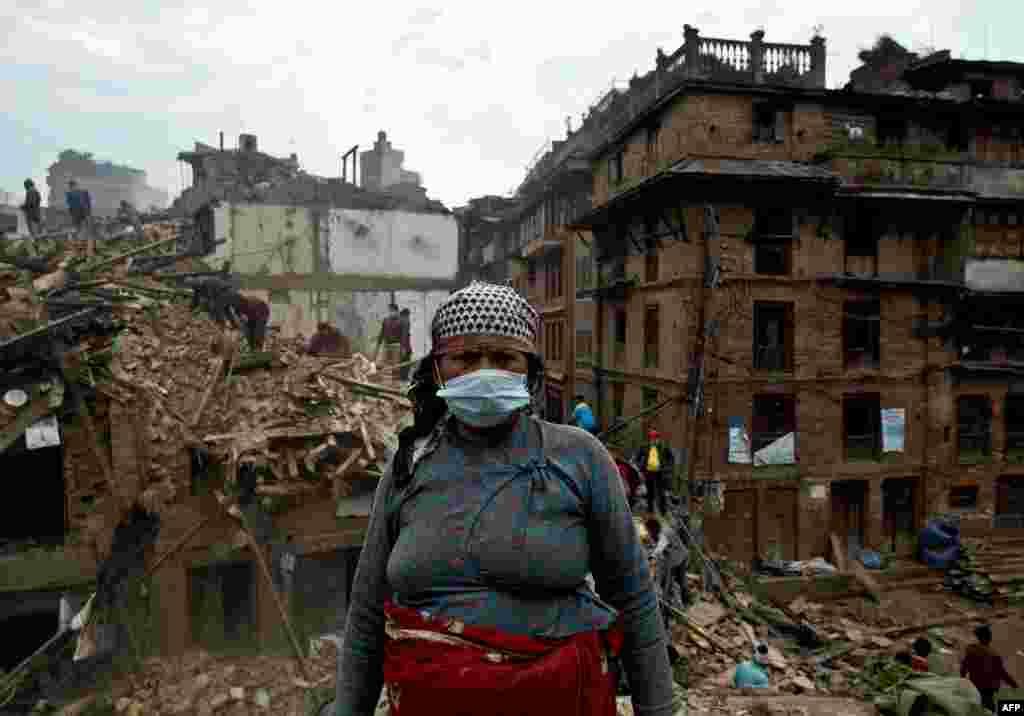 Nepal, zilziladan keyingi manzara