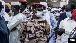 Mahamat Idriss Déby Itno, filho do antigo Presidente e chefe da Junta Militar no Chade, 11 de Abril de 2021