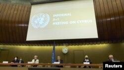 29 Nisan 2021 - Cenevre'de düzenlenen gayriresmi Kıbrıs görüşmelerinin ardından BM Genel Sekreteri Antonio Guterres açıklamalarda bulundu