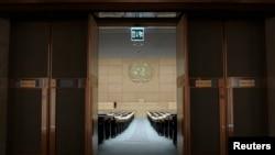 스위스 제네바 유엔 본부. (자료사진)