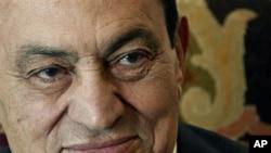 埃及前总统穆巴拉克(资料照片)