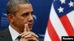 Tổng thống Barack Obama. (REUTERS/Larry Downing)