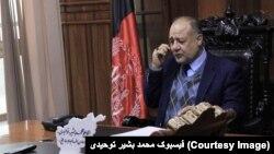 محمد بشیر توحیدی در حال حاضر معاون والی بلخ است