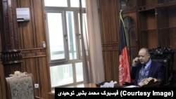 محمد بشیر توحیدي د بلخ د والي مرستیال دی.