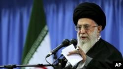 ຮູບພາບເຜີຍແຜ່ໂດຍ ຫ້ອງການຜູ້ນຳສູງສຸດ ອີຣ່ານ Ayatollah Ali Khomenei.