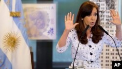 La presidenta Cristina Fernández aseguró que Argentina pagará su deuda.