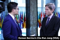 VOA's Korean Service's William Kim interviews U.S. Assistant Secretary of State for Democracy, Human Rights and Labor Tom Malinowski.