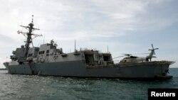 馬斯廷號驅逐艦。(資料圖片)