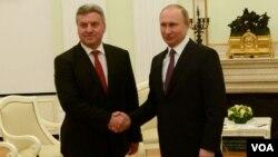 Средба на претседателот Ѓорге Иванов со претседателот на Русија Владимир Путин( фото МИА/Кабинет на Претседателот на РМ)