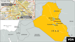 Irak'ta bombalı saldırıların gerçekleştiği şehirler