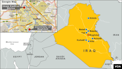 6 orang tewas akibat ledakan bom di irak voa indonesia
