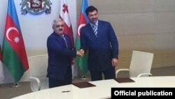 Rövnəq Abdullayev və Kaxa Kaladze