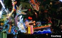 Đèn Trung Thu Sài Gòn 1966 (ảnh Douglas Ross)