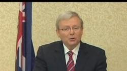 2012-02-22 美國之音視頻新聞: 澳洲工黨內鬥 外長陸克文辭職