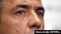 Oliver Ivanović, politički predstavnik Srba sa Kosova, ubijen u atentatu 16. januara 2018. (Foto RFE/RL)