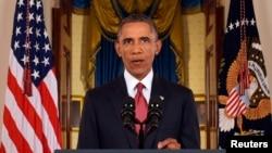 美國總統奧巴馬星期三發表有關打擊伊斯蘭國計劃的講話