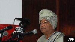 Tổng thống Liberia Ellen Johnson-Sirleaf