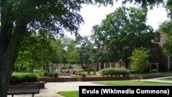 Sur le campus de Lipscomb, dans l'Etat du Tennesse, le 24 mai 2008.