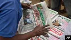 Nigeria, le 31 mars 2015.