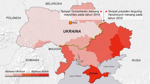 Ukraine presidential results