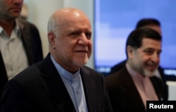 Iran's Oil Minister Bijan Zanganeh arrives for an OPEC meeting in Vienna, Austria, June 22, 2018.