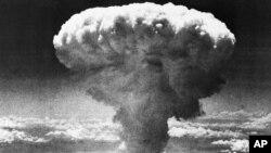 Mỹ đánh bom nguyên tử tại thành phố Nagasaki, Nhật, ngày 6/8/1945.
