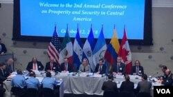 Segunda jornada de la Conferencia sobre Seguridad y Prosperidad en Centroamérica tiene como meta llegar a acciones específicas que den resultados para atacar los problemas que enfrenta la región.