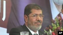 L'ancien président Mohamed Morsi (archives)