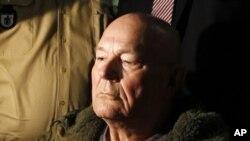 Bức ảnh chụp ngày 12/5/11, ông John Demjanjuk đang chờ trong một tòa án ở Munich, Đức