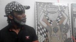 Esculpir o mosaico e azulejos é a nova aposta do angolano Zé Liras
