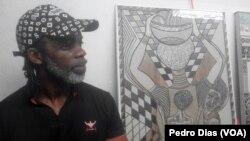 Zé Liras, Artista plástico angolano