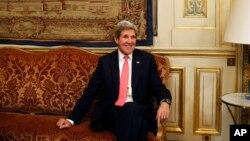 Госсекретарь США Джон Керри.Париж. Франция. 27 марта 2013 г.