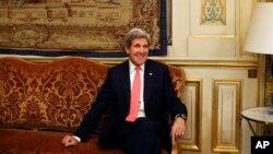 美國國務卿克里(2013年3月27日於巴黎訪問照)