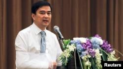 Mantan PM Thailand Abhisit Vejjajiva dibebaskan dari tuduhan pembunuhan terkait kekerasan tahun 2010 (foto: dok).
