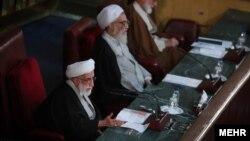 احمد جنتی، رئیس مجلس خبرگان، در نشست روز سه شنبه این مجلس