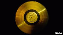 Пластинка «Вояджера» с записью земных песен