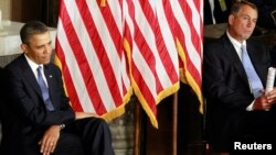 Барак Обама и Джон Бейнер